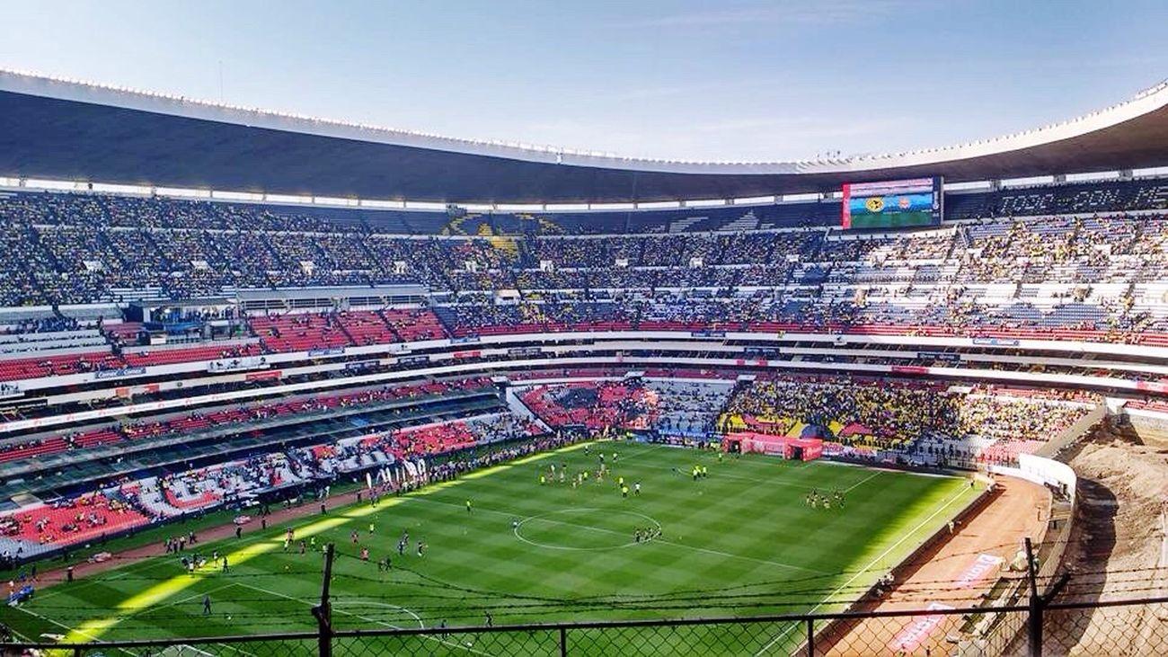 Estadioazteca Americavsmorelia Futbol
