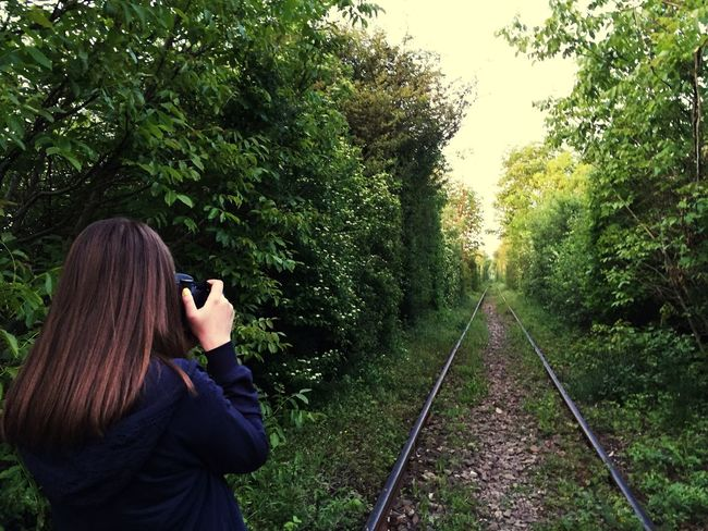 Love Tunnel Romania Taking Photos Nature_collection Nature Train Tracks Green
