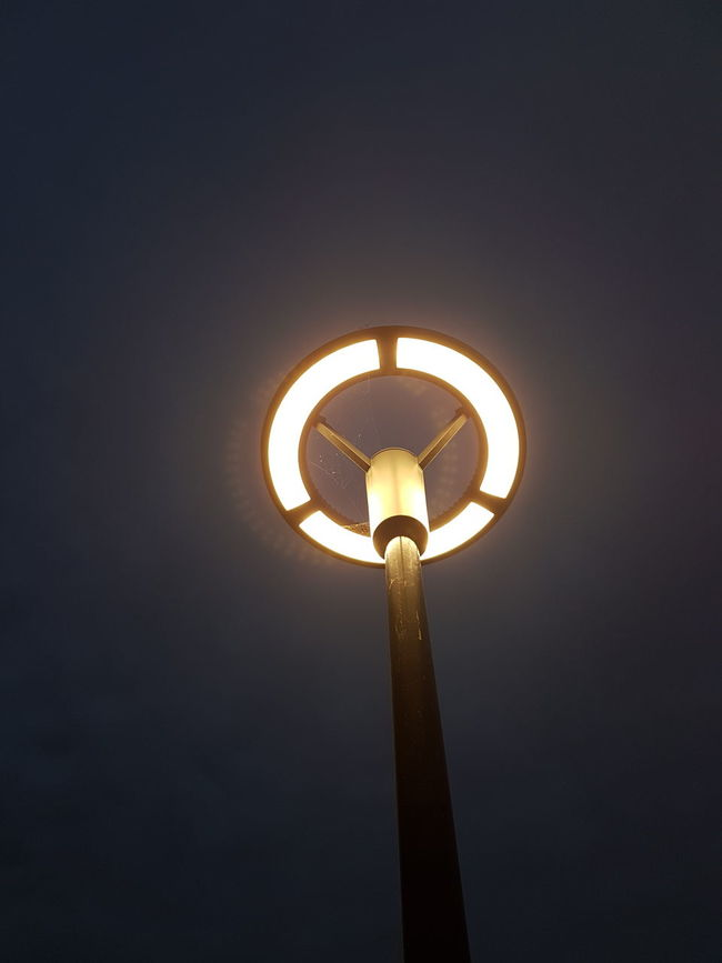 Lighting Equipment Low Angle View Illuminated Street Light Electricity  Close-up Night Electric Light Sky Power Supply No People Cloud - Sky