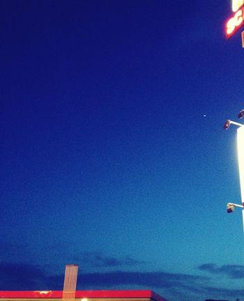 Sere d'estate Sky Cielo Blue Sky Cielo Azzurro Summer Nights Sere D'estate Summer ☀ Hello World