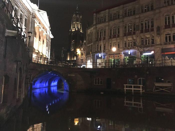 Utrecht @ night