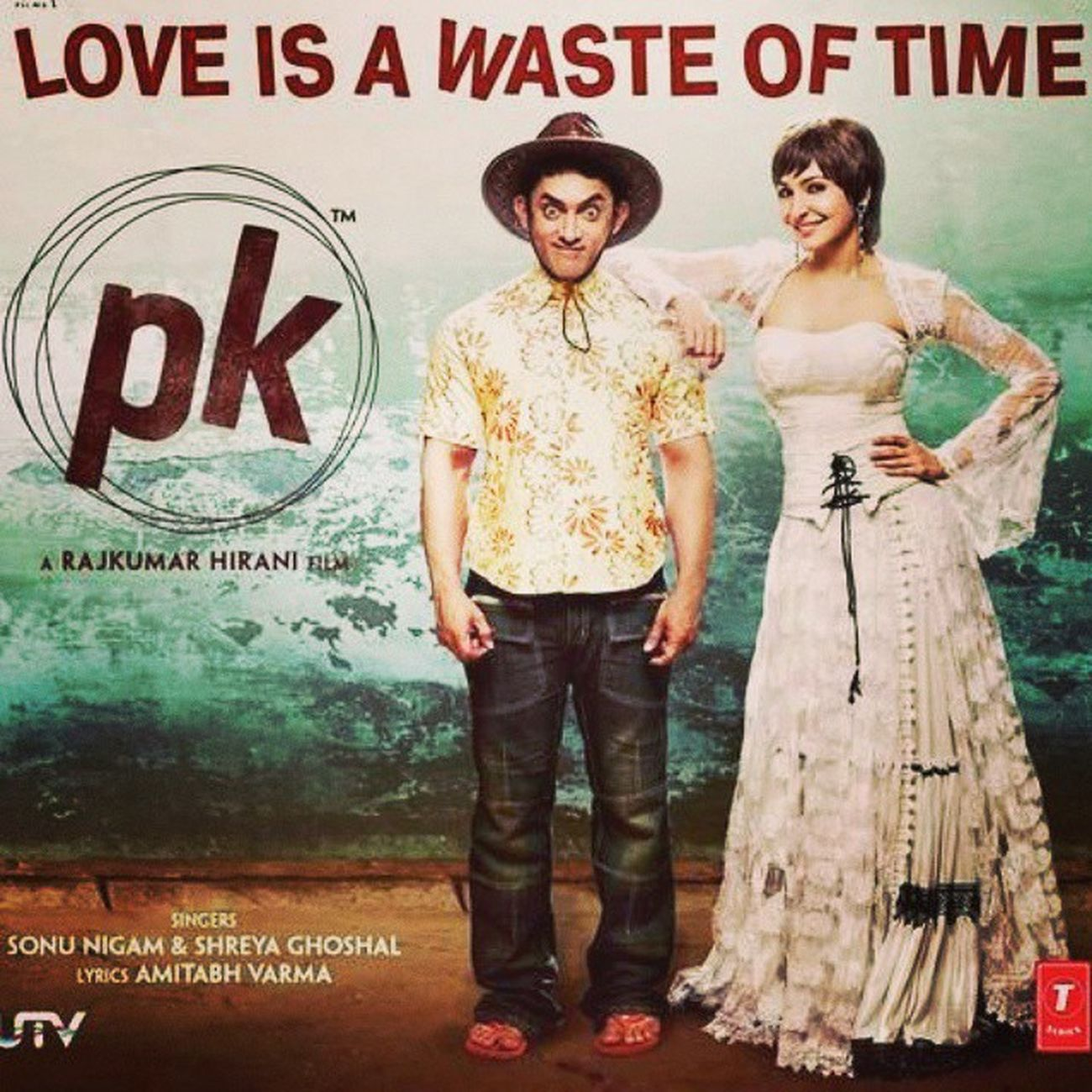 Foolishly in love with this song ^_^ Bhasteoftime Loveisawasteoftime Pk Loop cutesong inlove anushka favorite