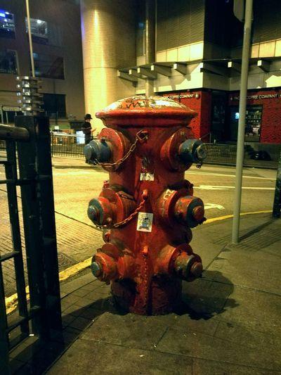 I just thought it was cool.. HongKong Hongkong Photos Hongkongcity Hongkongstreet Hongkongnight Hongkongtrip Hongkongcentral Hongkonglife Firehydrant