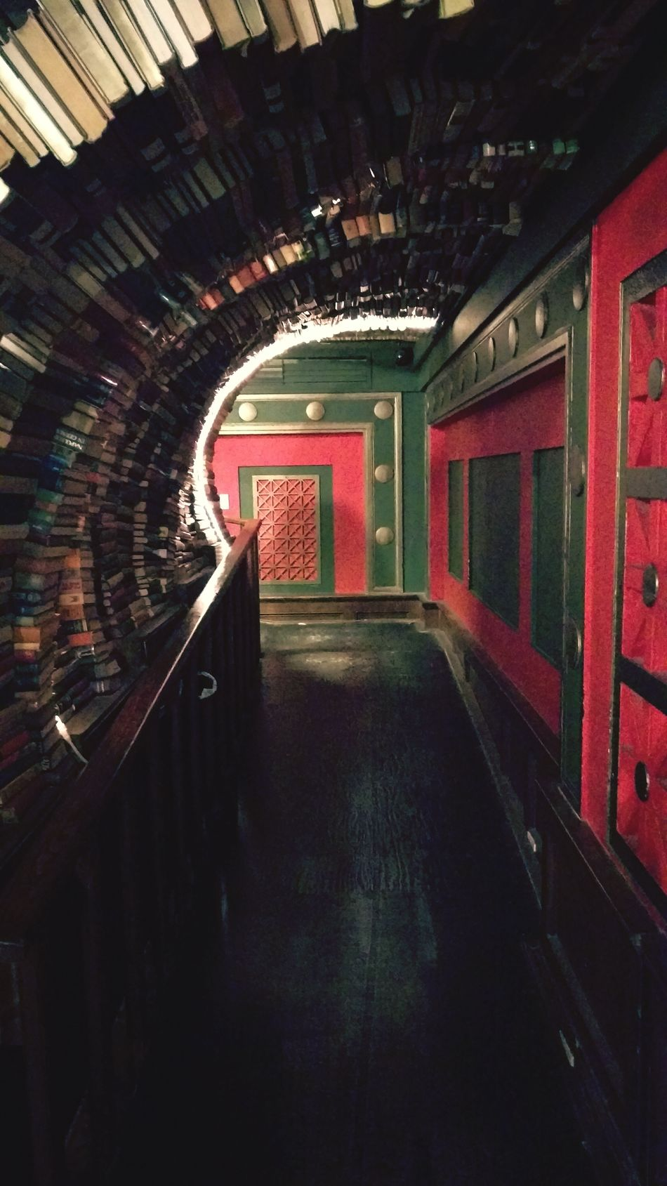 Book Tunnel The Last Bookstore Los Angeles, California Losangeles Downtown Los Angeles