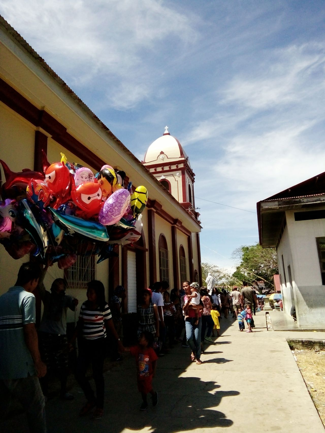 Feast Day People People Photography Balloons Church Faith Fiesta Philippines Photos People And Places