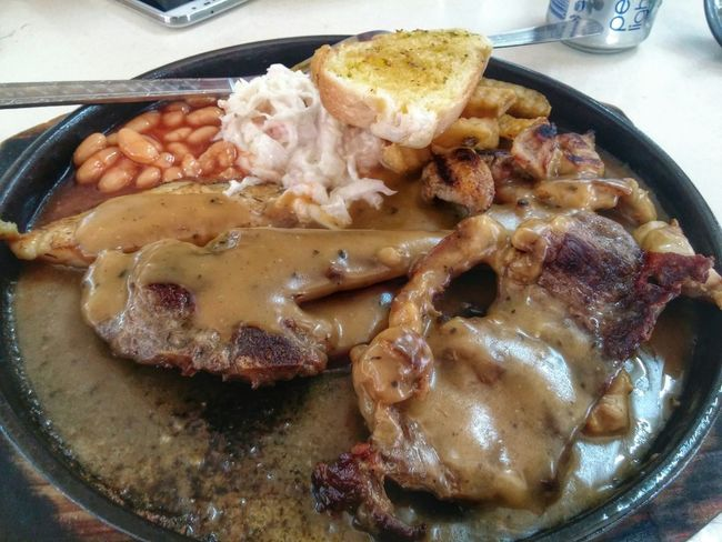 Late Lunch Mixed Grill. Enjoy!