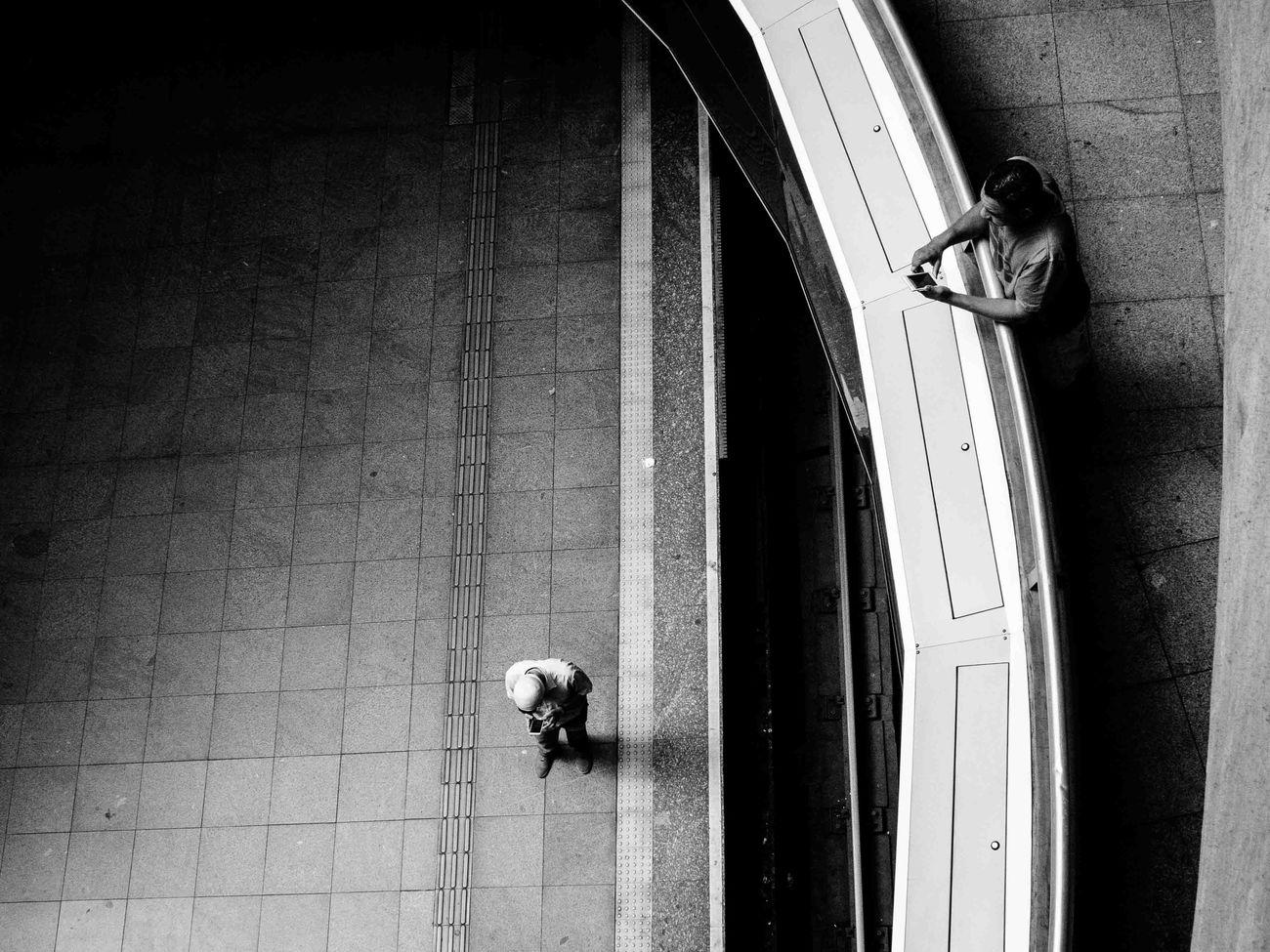 Monochrome Photography Subway Station Street Photography Fotografia De Rua São Paulo Men Vignette