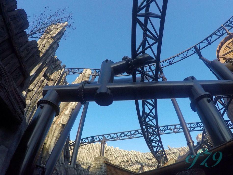 Phantasialand Roller Coaster Cf79 Taron Klugheim Frühber Germany Frühauf Coaster Theme Park