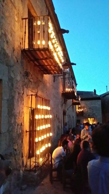 Fantastic Exhibition Noche De Las Velas En Pedraza Taking Photos Enjoying Life