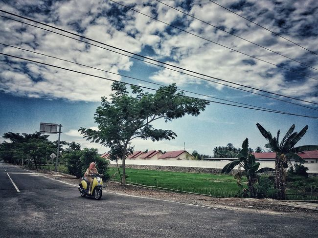 """Things I Like """"the street and the clouds"""" Street Photography Here Belongs To Me"""