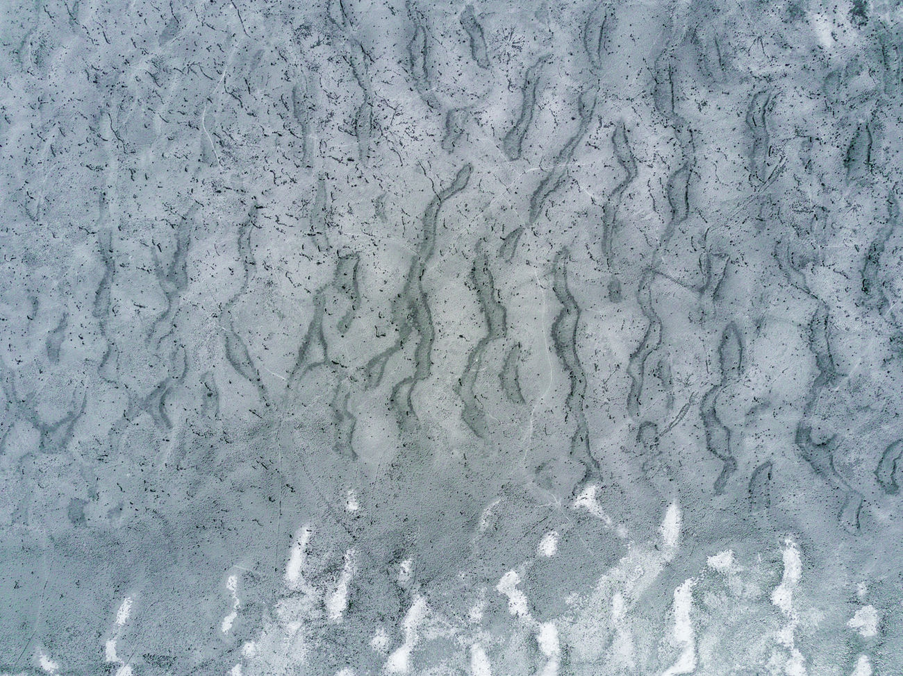 Abstract Aerial Aerial View Backgrounds Full Frame Ice Lake Nature No People Snow Spring Water White