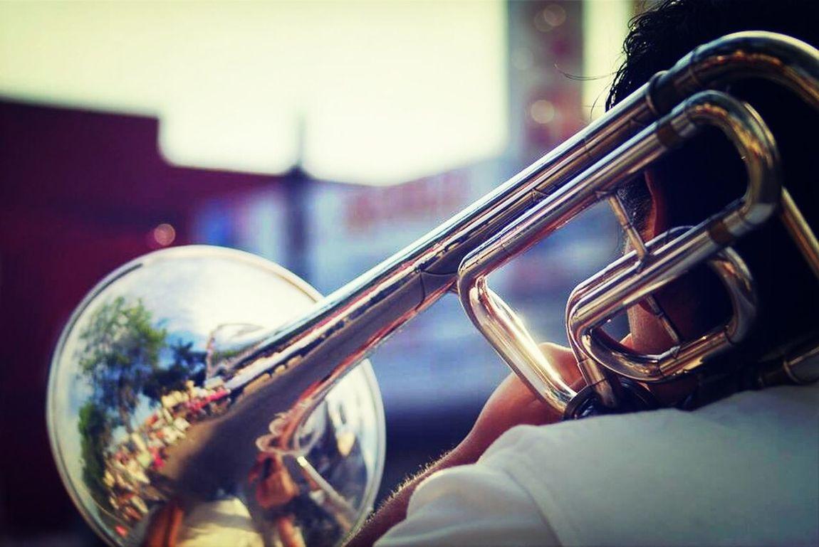 La música no es lo que hago, es lo que soy. Trombone Trombonist King4B Life