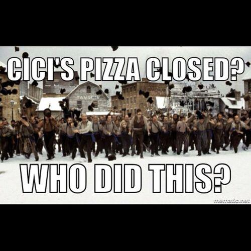 Cicis Pizza Gangsofnewyork