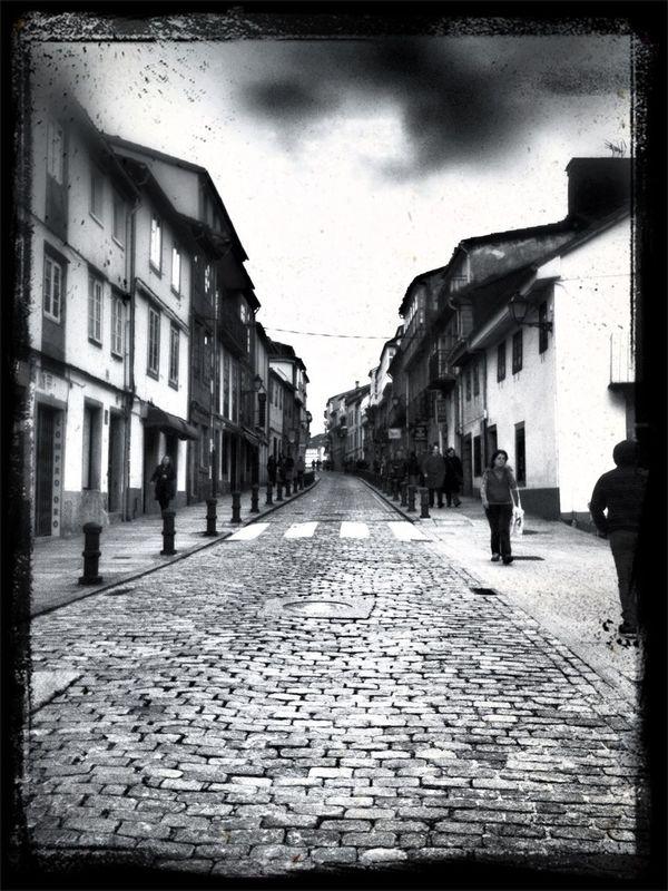 Rúas Polas Que Paseo Os Meus Andares