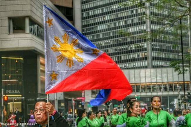 Flag Philippine Flag Election Campaignhere in hongkong