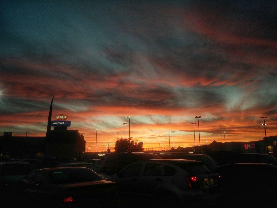 Clouds And Sky Sunset City Horizon Durango, Durango