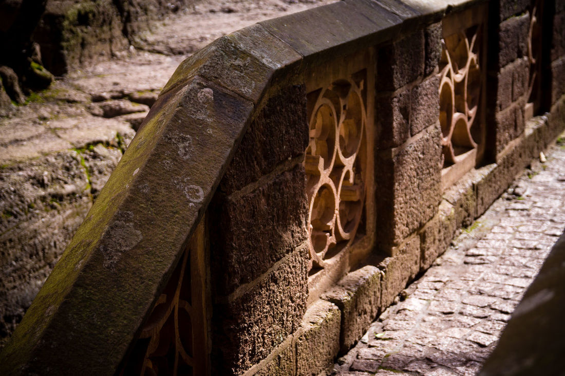 Ancient Civilization Ancient Ruins Architecture Built Structure Close-up Day History Low Angle View Nature No People Outdoors Rock - Object The Past Wall Wartburg Wartburg In Eisenach/ Germany