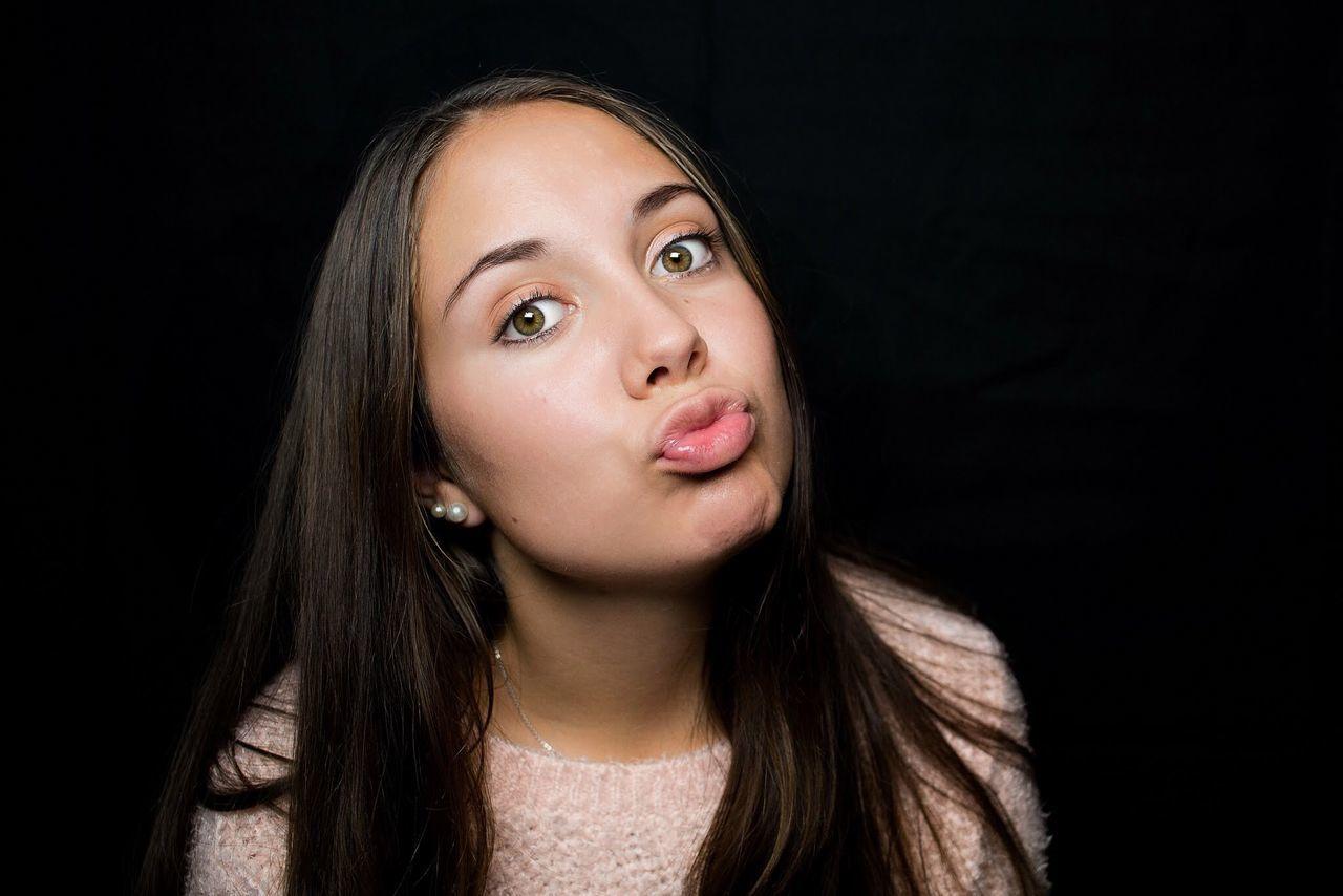 Beautiful stock photos of black background, 16-17 Years, Beautiful Woman, Beauty, Black Background