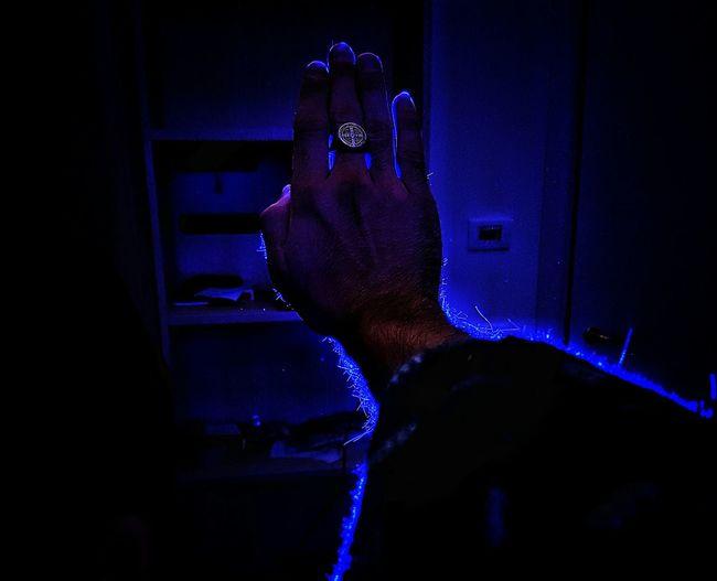 Bluelight Blue Darkness Blacklight Electric Blue
