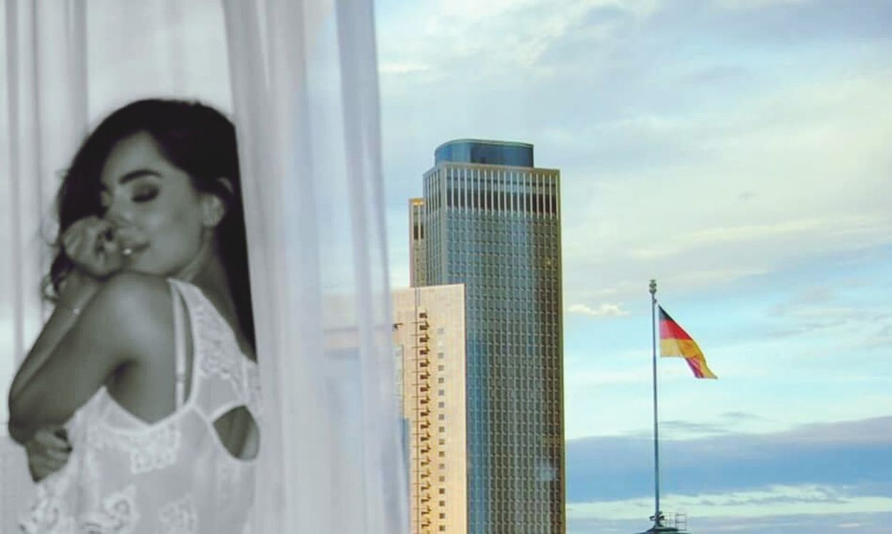 Pastel Power Arcitecture Frankfurt Frankfurt City  Germany Deutschland Flag Building Building Exterior Curtains Love Pastel Colors Girl Swagg ♥ Womensfashion Womenmodel Womenstyle Women Of EyeEm Stylish Makemoments Happytime Smilerforever Enjoying Life Pattern Light And Shadow Light Colors