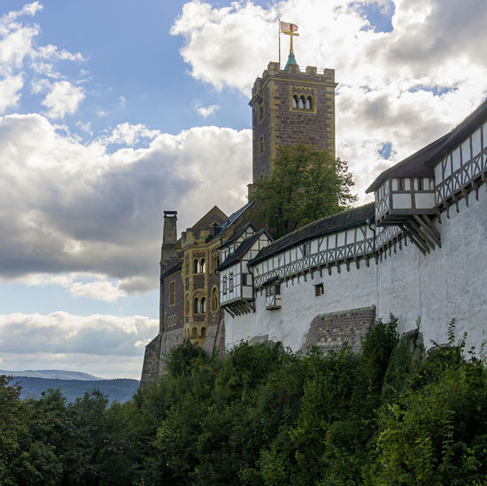 Warturg Architecture Building Exterior Built Structure Castle Cloud - Sky Day Eisenach Fortress History Luther Lutherstadt Martin Luther Medieval No People Outdoors Religion Travel Travel Destinations Wartburg