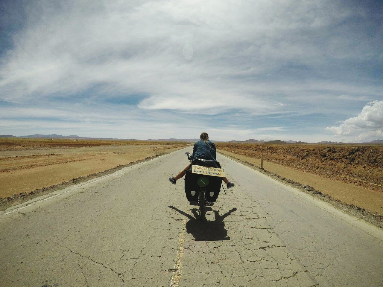 On the road again, hitting the roads up like never before : Bike Touring Bolivia Life On The Road Bike Photography Bikelife EyeEmNewHere Bikesaroundtheworld Biketouring Journey Travel Landscape_Collection Landscape_photography Travel The World Travel Photography Travel Destinations Outdoors Adventure Time World Places Travel Girl Southamerica Getting Away From It All Remote Adventure Road Trip Photograpghy Biketrip EyeEmNewHere