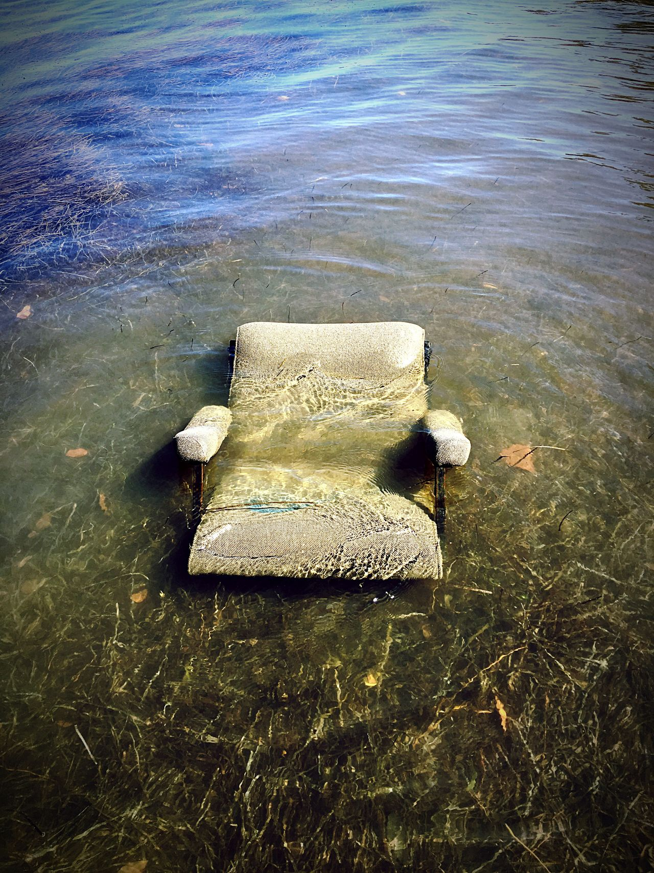 Have a seat! Water Tranquility Chair Adapted To The City