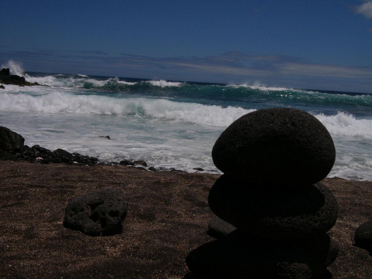 Glass Beach, Port Allen Kauai Hawaii Stones