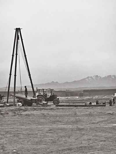 Shades Of Grey Afghanistan Blackandwhite Mission Oil Oilfield