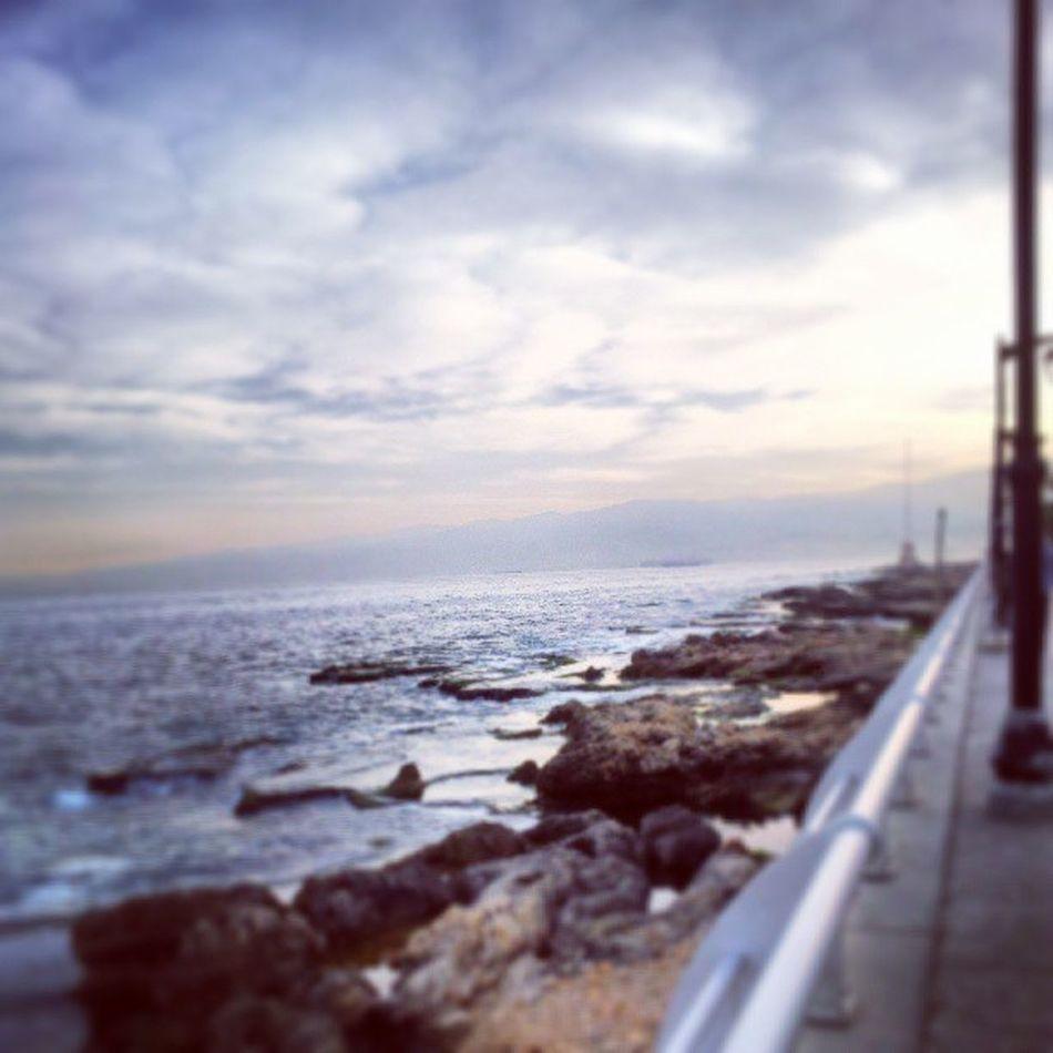 Beirut Morning Sea Ein_mraysseh