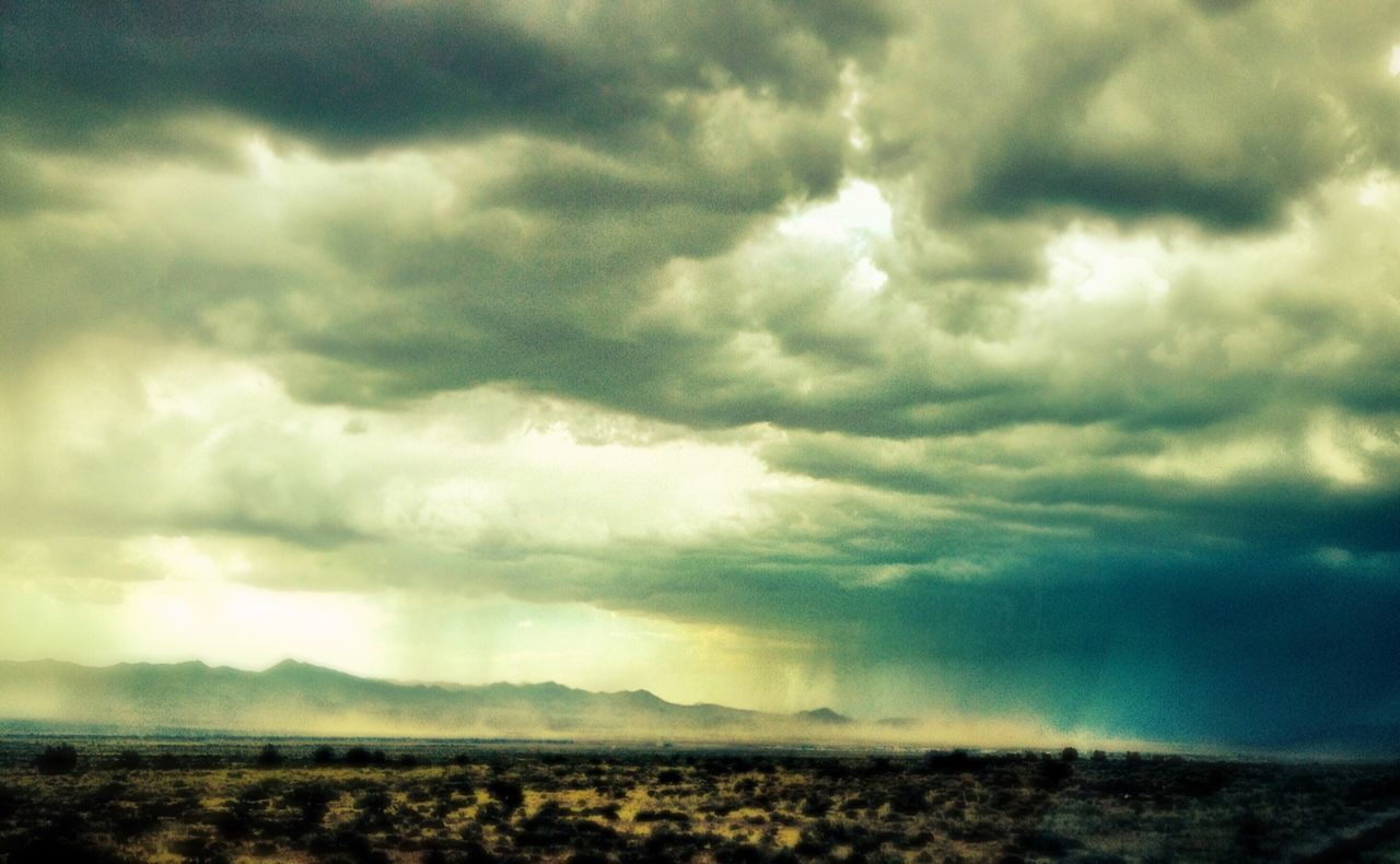 Storm Clouds las vegas nevada mountain range