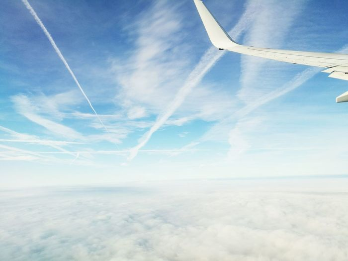 Aerial View Cloud - Sky Flying Cloudscape Cloud Sky First Eyeem Photo