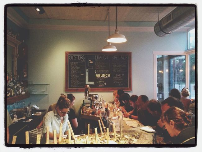 Portland Maine Eventide oyster co #Oysters