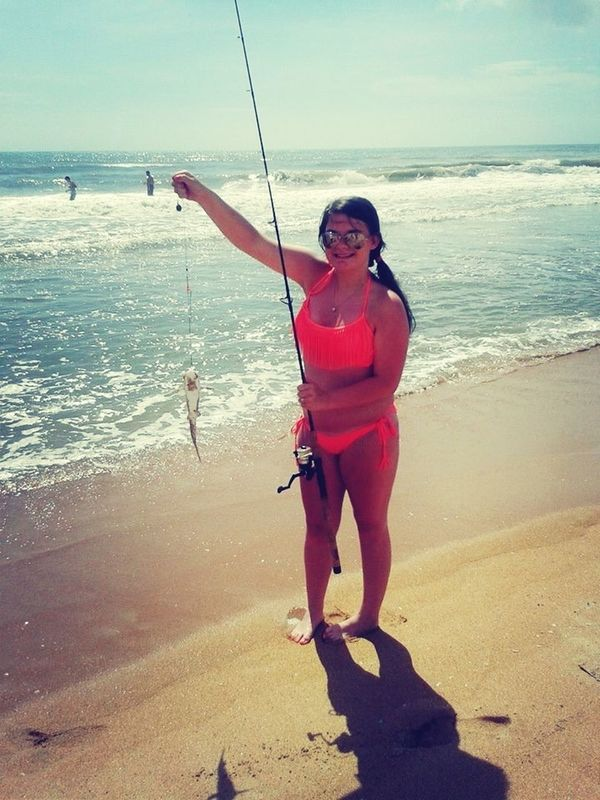 Today's been great , caught some catfish<3