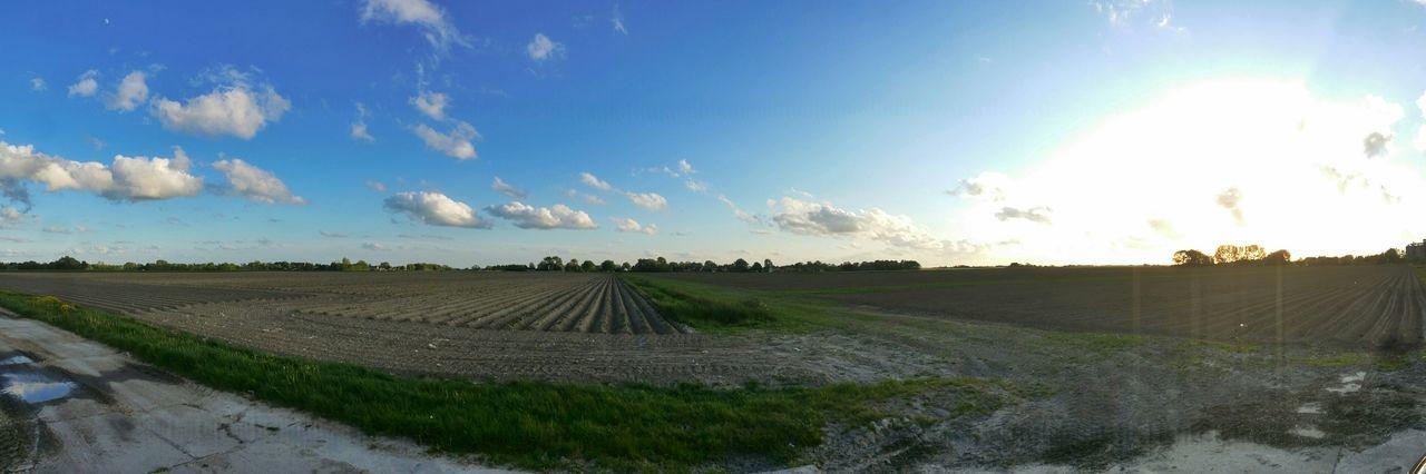 Groningen Clouds And Sky Farmland Hogeland