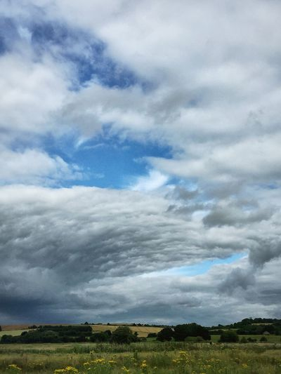 Week On Eyeem Standing Water Beauty In Nature Nature Sky Landscape_Collection Grass Landscape_photography Ground Clouds And Sky Cloudscape Clouds Collection Farmland