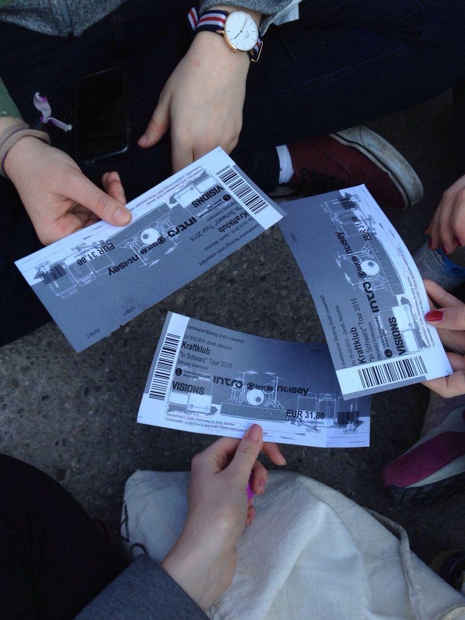 Kraftklub🎉 München Inschwarz Perfect Hanging Out Konzert Meeting Live Love Girls Having Fun