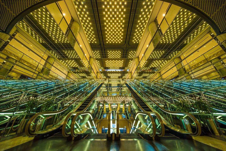 東京 有楽町 有楽町マリオン 反射 Tokyo Yuurakucho Reflection Reflections Architecture Japan Japan Scenery Indoors