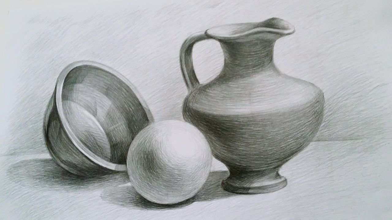 Still Life Collection Domestic Life Drawing Drawing ✏ Pencil Drawing Pencils Blackandwhite School Schoolart ArtWork Studyart Education Arteducation Realistic Art Realistic Art Art, Drawing, Creativity