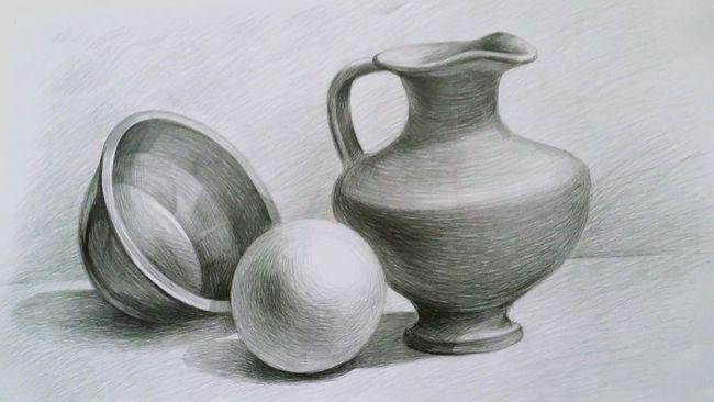 Still Life Collection Domestic Life Drawing Drawing ✏ Pencil Drawing Pencils Blackandwhite School Schoolart ArtWork Studyart Education Arteducation Realistic Art Realistic Art Art, Drawing, Creativity