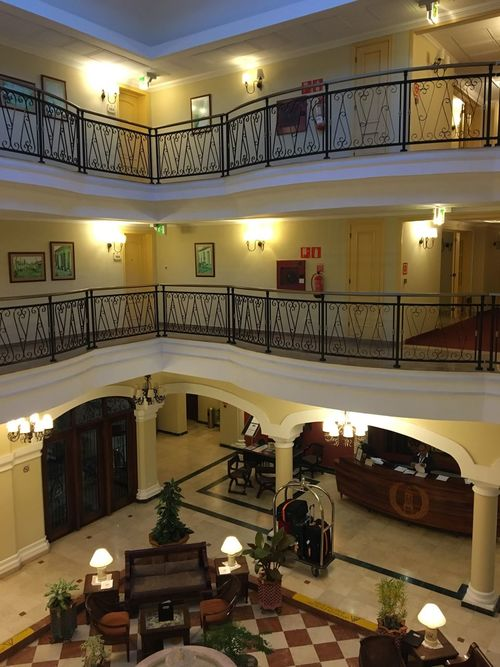 Cuba Hotel Lobby Architecture Illuminated Built Structure Statue City Indoors