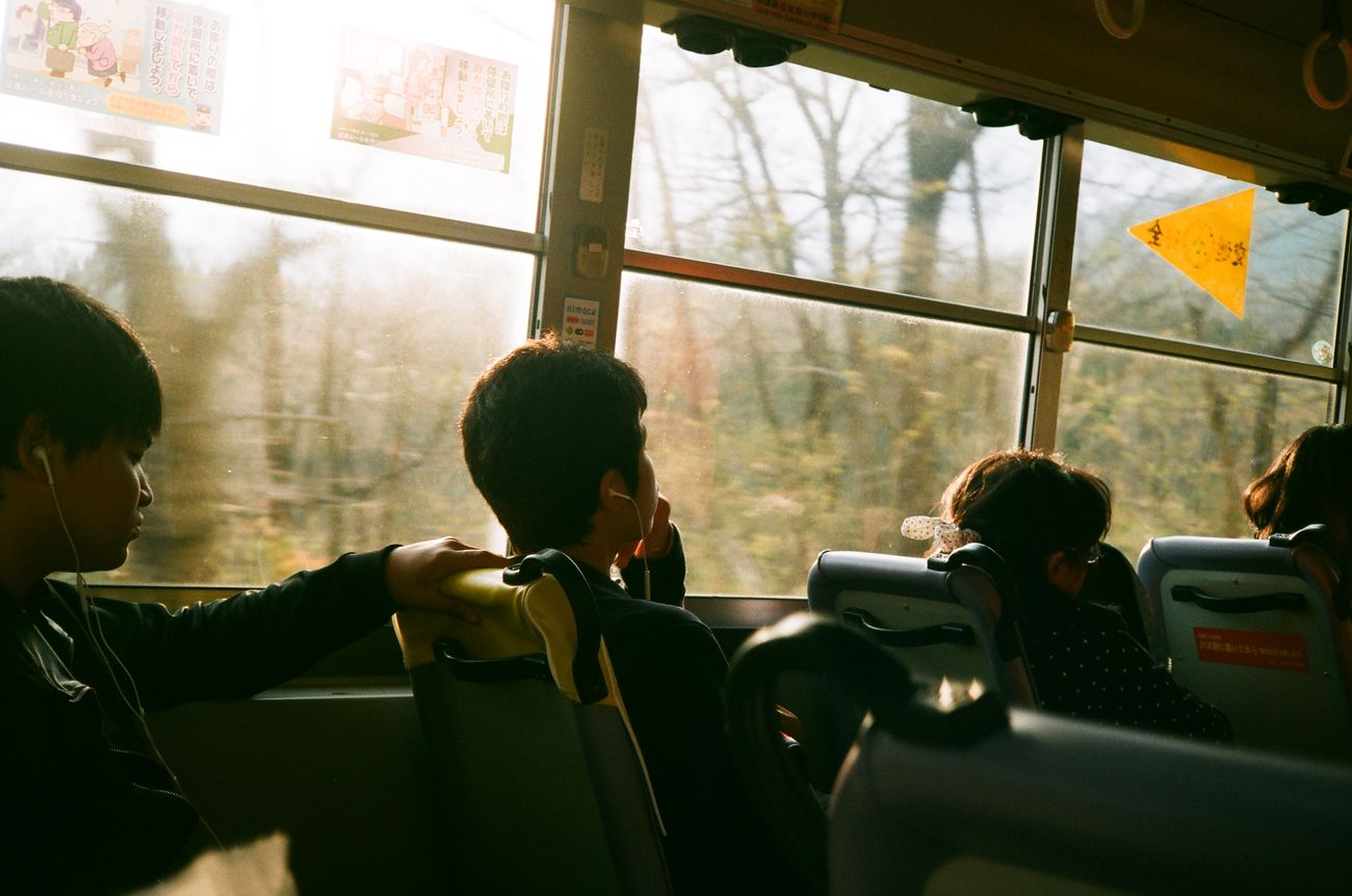 Japan Bus Traveling Travel Sunlight Beppu Canon Film Filmcamera Kodak Canon A35Datelux 'K' The Life Spectrum