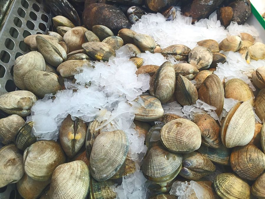Seafood Clams Grocery Shopping Food Crustacean