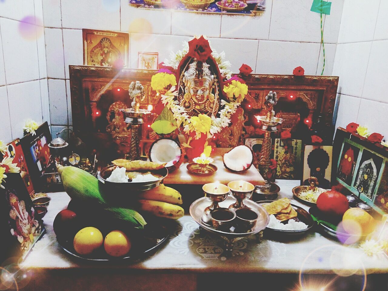 indoors, plate, food and drink, food, table, no people, fruit, spirituality, statue, freshness, healthy eating, ready-to-eat, day