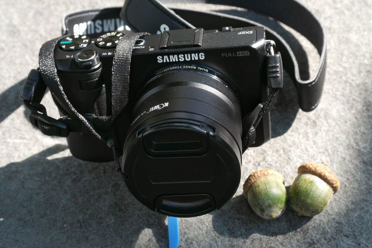 Putting my small camera and both my nuts down so that I could use the other one, lol.😁 Camera - Photographic Equipment Photography Nutshots