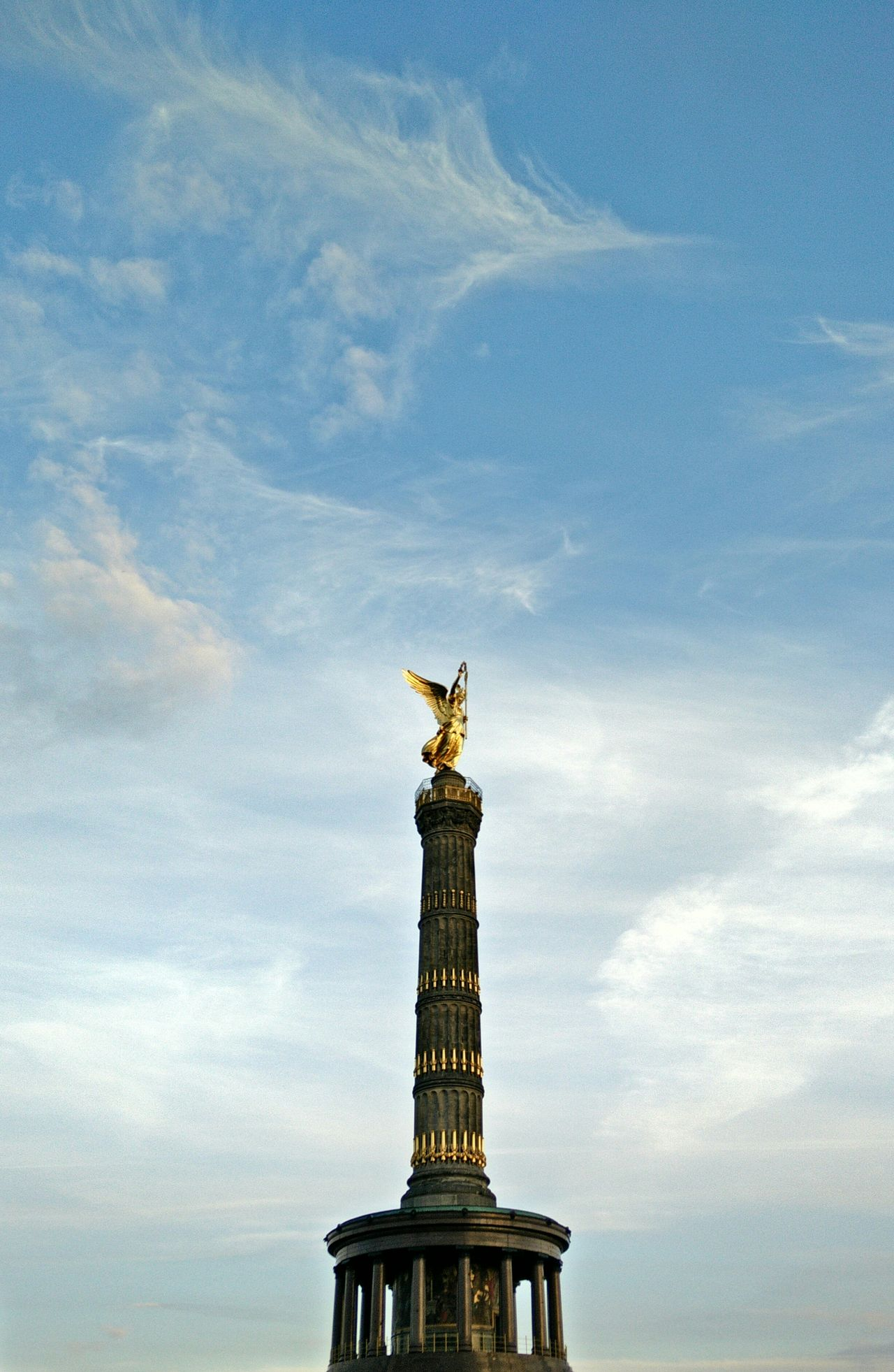 Beautiful stock photos of europe, Art And Craft, Berlin, Berlin Victory Column, Cloud