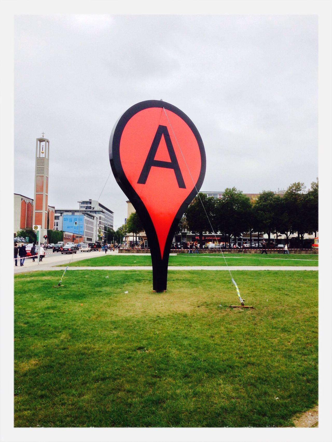 Friedrichsplatz Kassel Places Sign
