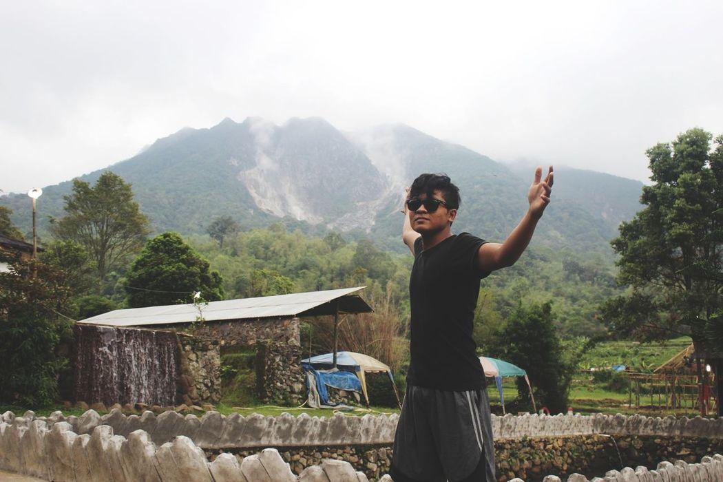 Beautiful place Relaxing Hanging Out Sinabung Sumatera Utara