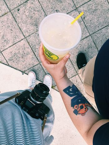 Thirsty? Walking Around Enjoying Life VSCO Tattoo Vacation Time Floortraits Check This Out Urban Lifestyle