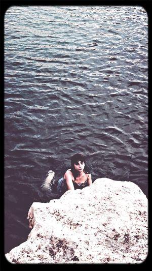 Sarah Portrait Water Summer Video Shoot